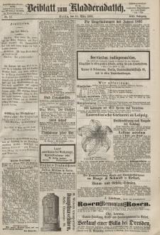 Kladderadatsch, 21. Jahrgang, 15. März 1868, Nr. 12 (Beiblatt)