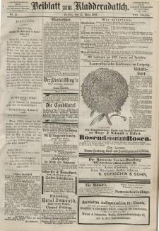 Kladderadatsch, 21. Jahrgang, 22. März 1868, Nr. 13 (Beiblatt)