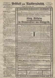 Kladderadatsch, 21. Jahrgang, 29. März 1868, Nr. 14/15 (Beiblatt)