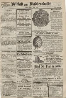 Kladderadatsch, 21. Jahrgang, 5. April 1868, Nr. 16 (Beiblatt)