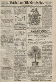 Kladderadatsch, 21. Jahrgang, 12. April 1868, Nr. 17 (Beiblatt)