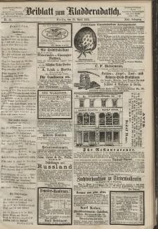 Kladderadatsch, 21. Jahrgang, 26. April 1868, Nr. 19 (Beiblatt)