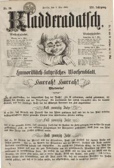 Kladderadatsch, 21. Jahrgang, 3. Mai 1868, Nr. 20