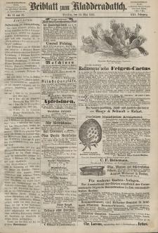 Kladderadatsch, 21. Jahrgang, 10. Mai 1868, Nr. 21/22 (Beiblatt)