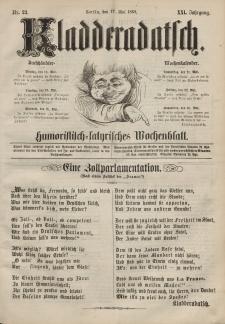 Kladderadatsch, 21. Jahrgang, 17. Mai 1868, Nr. 23