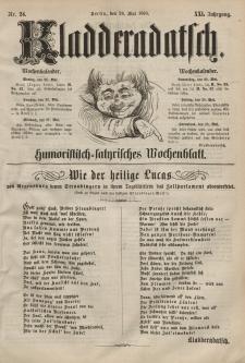 Kladderadatsch, 21. Jahrgang, 24. Mai 1868, Nr. 24