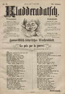 Kladderadatsch, 21. Jahrgang, 7. Juni 1868, Nr. 26