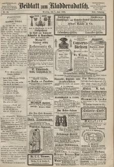 Kladderadatsch, 21. Jahrgang, 7. Juni 1868, Nr. 26 (Beiblatt)