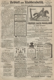 Kladderadatsch, 21. Jahrgang, 14. Juni 1868, Nr. 27 (Beiblatt)