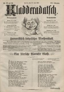 Kladderadatsch, 21. Jahrgang, 28. Juni 1868, Nr. 29/30