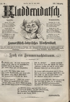 Kladderadatsch, 21. Jahrgang, 12. Juli 1868, Nr. 32