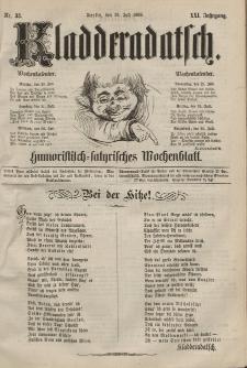 Kladderadatsch, 21. Jahrgang, 19. Juli 1868, Nr. 33