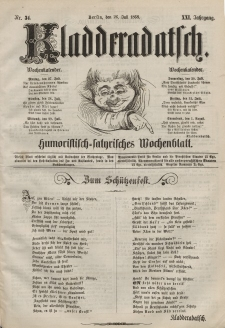 Kladderadatsch, 21. Jahrgang, 26. Juli 1868, Nr. 34