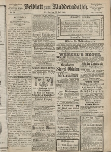 Kladderadatsch, 21. Jahrgang, 26. Juli 1868, Nr. 34 (Beiblatt)
