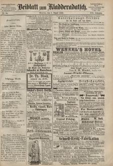 Kladderadatsch, 21. Jahrgang, 2. August 1868, Nr. 35 (Beiblatt)