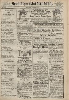 Kladderadatsch, 21. Jahrgang, 9. August 1868, Nr. 36 (Beiblatt)