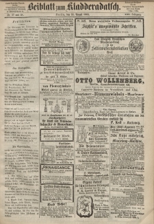 Kladderadatsch, 21. Jahrgang, 16. August 1868, Nr. 37/38 (Beiblatt)
