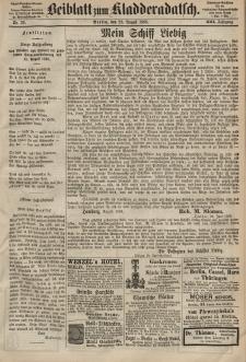 Kladderadatsch, 21. Jahrgang, 23. August 1868, Nr. 39 (Beiblatt)