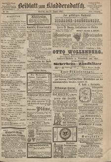 Kladderadatsch, 21. Jahrgang, 30. August 1868, Nr. 40 (Beiblatt)