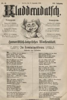 Kladderadatsch, 21. Jahrgang, 13. September 1868, Nr. 42