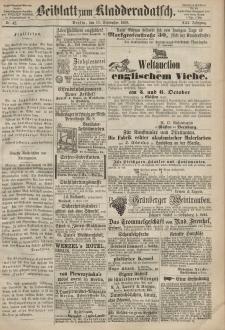 Kladderadatsch, 21. Jahrgang, 13. September 1868, Nr. 42 (Beiblatt)