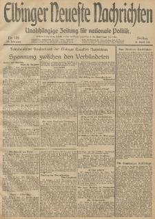 Elbinger Neueste Nachrichten, Nr. 105 Freitag 18 April 1913 65. Jahrgang