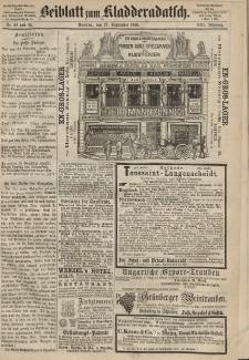 Kladderadatsch, 21. Jahrgang, 27. September 1868, Nr. 44/45 (Beiblatt)