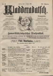 Kladderadatsch, 21. Jahrgang, 4. Oktober 1868, Nr. 46