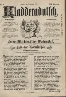 Kladderadatsch, 21. Jahrgang, 18. Oktober 1868, Nr. 48