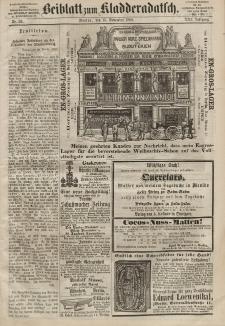 Kladderadatsch, 21. Jahrgang, 15. November 1868, Nr. 53 (Beiblatt)