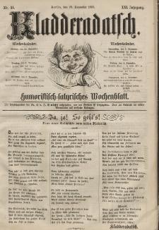 Kladderadatsch, 21. Jahrgang, 29. November 1868, Nr. 55