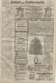 Kladderadatsch, 21. Jahrgang, 6. Dezember 1868, Nr. 56 (Beiblatt)