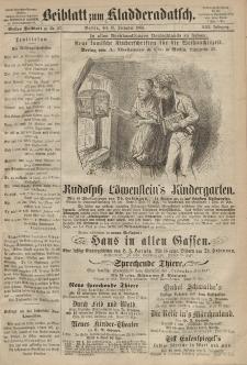 Kladderadatsch, 21. Jahrgang, 13. Dezember 1868, Nr. 57 (Beiblatt)