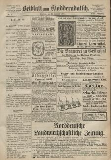 Kladderadatsch, 22. Jahrgang, 10. Januar 1869, Nr. 2 (Beiblatt)