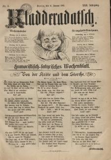 Kladderadatsch, 22. Jahrgang, 31. Januar 1869, Nr. 5