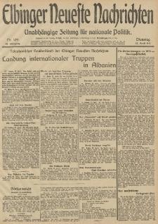 Elbinger Neueste Nachrichten, Nr. 109 Dienstag 22 April 1913 65. Jahrgang