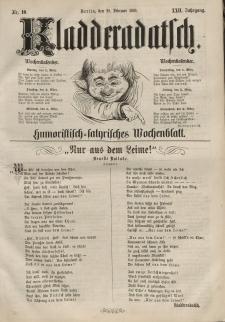 Kladderadatsch, 22. Jahrgang, 28. Februar 1869, Nr. 10