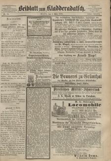 Kladderadatsch, 22. Jahrgang, 7. März 1869, Nr. 11 (Beiblatt)