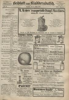 Kladderadatsch, 22. Jahrgang, 14. März 1869, Nr. 12 (Beiblatt)