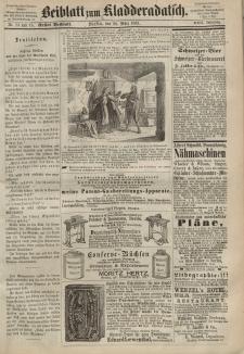 Kladderadatsch, 22. Jahrgang, 28. März 1869, Nr. 14/15 (Beiblatt)