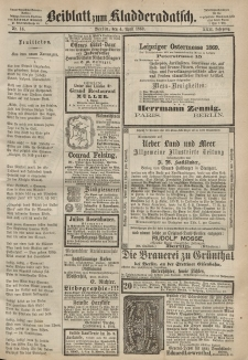 Kladderadatsch, 22. Jahrgang, 4. April 1869, Nr. 16 (Beiblatt)