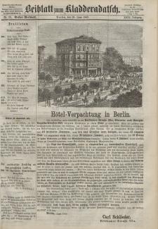 Kladderadatsch, 22. Jahrgang, 20. Juni 1869, Nr. 28 (Beiblatt)