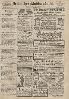 Kladderadatsch, 22. Jahrgang, 27. Juni 1869, Nr. 29/30 (Beiblatt)