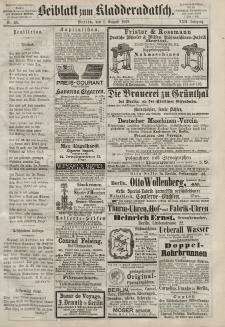 Kladderadatsch, 22. Jahrgang, 1. August 1869, Nr. 35 (Beiblatt)