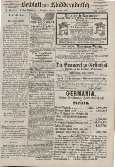 Kladderadatsch, 22. Jahrgang, 15. August 1869, Nr. 37/38 (Beiblatt)