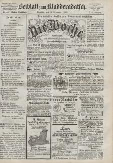 Kladderadatsch, 22. Jahrgang, 19. September 1869, Nr. 43 (Beiblatt)