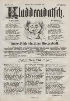 Kladderadatsch, 22. Jahrgang, 26. September 1869, Nr. 44/45
