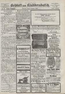 Kladderadatsch, 22. Jahrgang, 3. Oktober 1869, Nr. 46 (Beiblatt)