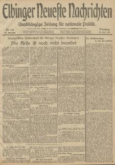 Elbinger Neueste Nachrichten, Nr. 116 Dienstag 29 April 1913 65. Jahrgang