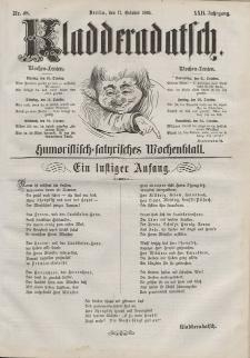 Kladderadatsch, 22. Jahrgang, 17. Oktober 1869, Nr. 48